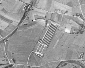 Аэрофотосъемка полигона Хебертсхаузен и окрестностей (1943 г.).