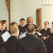 Участие мужского православного хора «Держава» в Божественной литургии в Мюнхене
