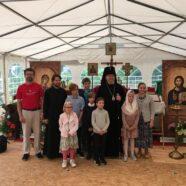 В день памяти преп. Сергия Радонежского состоялась вторая служба с участием детей