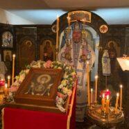 10 декабря 2020 — В праздник иконы Божией Матери «Знамение» архиепископ Тихон совершил Литургию в Крестовоздвиженском храме г. Мюнхена